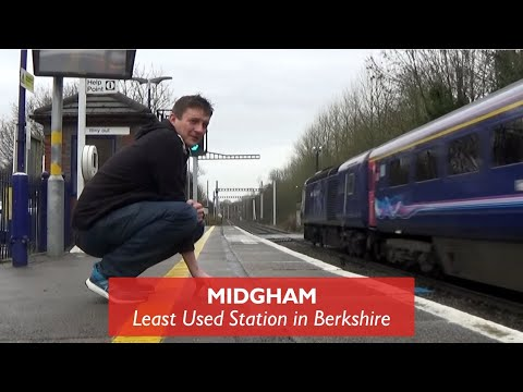 Midgham - Least Used Station in Berkshire