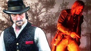 RDR2 Dutch is like brother to Micah - Red Dead Redemption 2 Camp Event