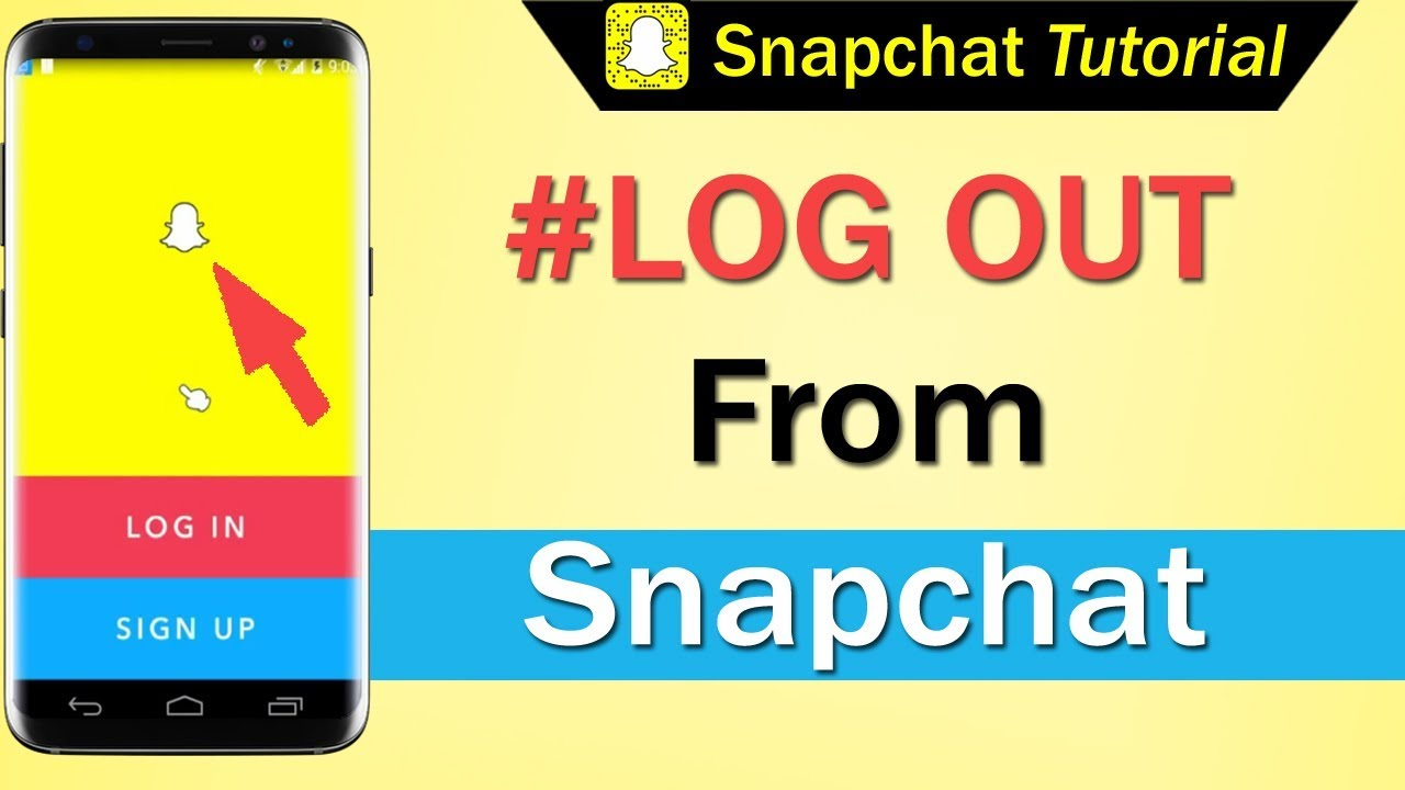 Snapchat logout of devices