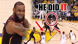 this is how the warriors almost lost to the cavs in the nba finals
