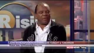 John Witherspoon interview on  WCCB Charlotte