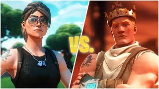 when the best fortnite players 1v1 ft. Tfue