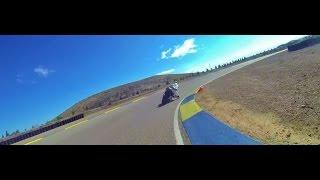 INDE Motorsport Ranch YCRS / CHRIS PERIS instructor- Alan Wilzig riding