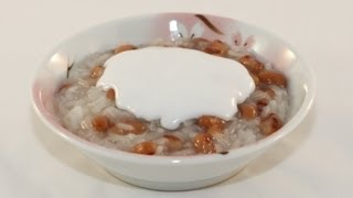 Rice Pudding With Black-eyed Peas (che Dau Trang)