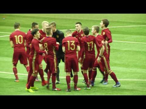Обзор игры. Россия - Армения - U17