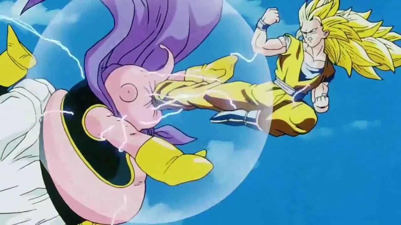 Goku vs Majin Buu AMV - YouTube