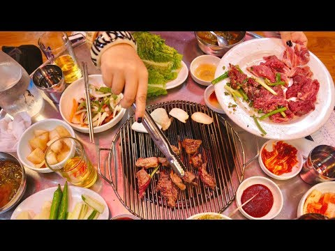 SECRET KOREAN STREET FOOD tour of SEOUL'S HIDDEN food alleys | Korean BBQ town, Tteokbokki town...