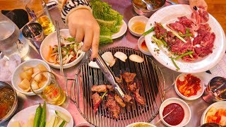 SECRET KOREAN STREET FOOD tour of SEOUL'S HIDDEN food alleys | Korean BBQ town, Tteokbokki town...