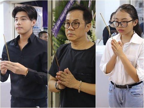 Noo Phước Thịnh,Phương Mỹ Chi,Các nghệ sĩ Việt khóc nghẹn, lần lượt tới tiễn biệt Minh Thuận