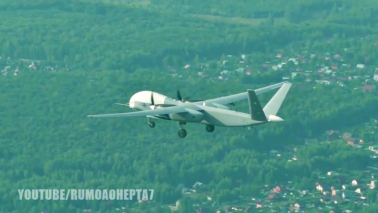 New Russian Altius-U Long-Range Unmanned Aerial Vehicle: First Flight