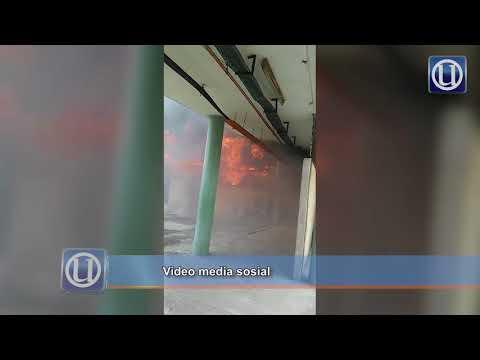 Unit Forensik HKL terbakar