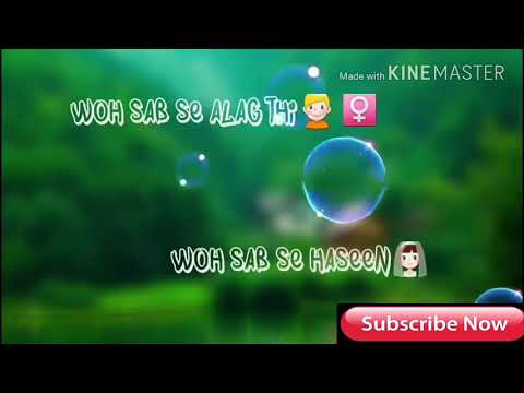 Ik Kone Mein Tha Baitha | Whatsapp Status Video | Love Video | Romantic Video Song 2017 | New Song