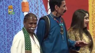 Iftikhar Thakur Agha Majid and Kousar Bhatti Saraiki Stage Drama Full Comedy Clip 2019