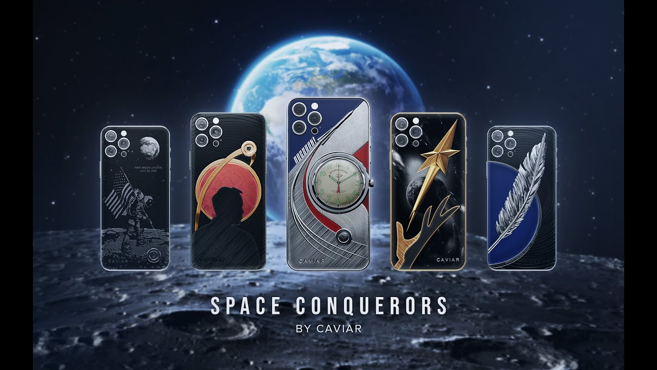 "Caviar launches a line of smartphones ""Space Conquerors"", dedicated to the Day of Cosmonautics"