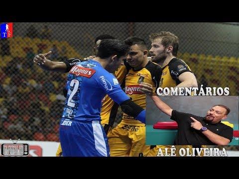 Jogo Completo Magnus Futsal 4 x 4 Blumenau - 2ª Semana Liga Nacional de Futsal 2018 23032018