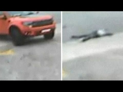 Video of Suge Knight 'hit and run' released