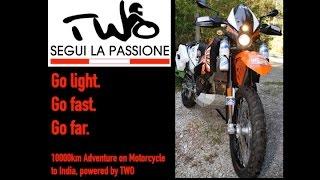 TWO Adventure: 10000km mit dem Motorrad nach Indien in 1080HD
