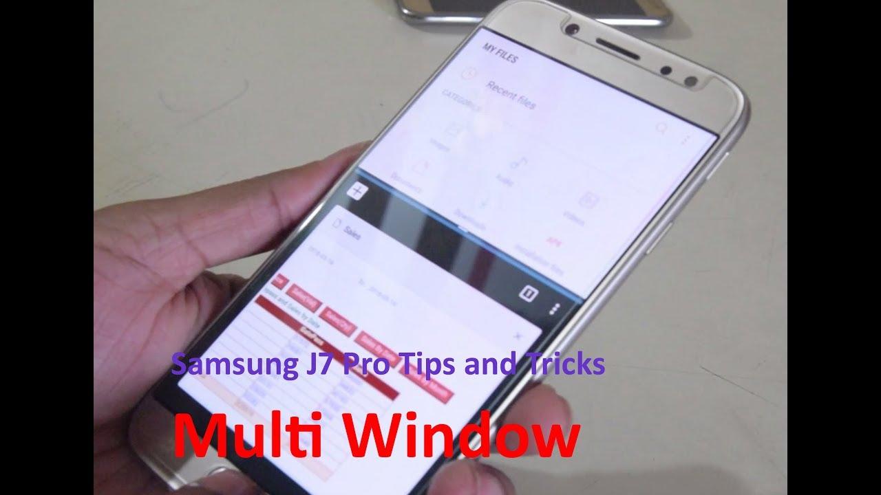 Samsung J7 Pro Tips and Tricks: Multi Window