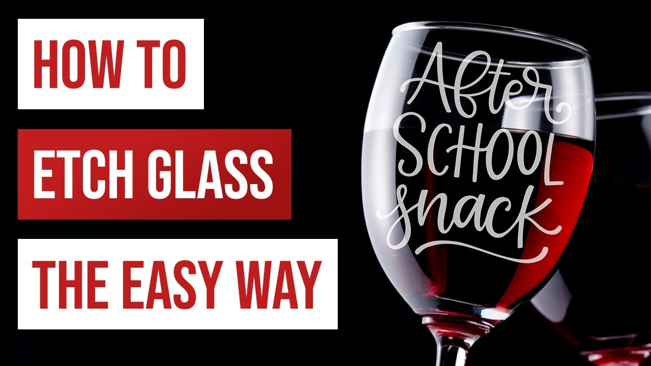 Download 🍷 How to Etch Glass the Easy Way