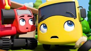 Buster the Gardener - Grow Vegetables at Home | Go Buster | Kids Cartoons | Children's Stories