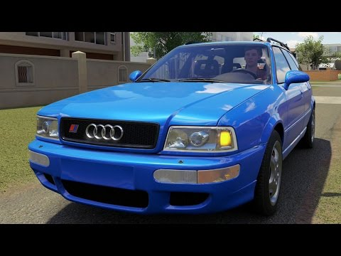 Audi RS2 Avant 1995 - Forza Horizon 3 - Test Drive Free Roam Gameplay (HD) [1080p60FPS]