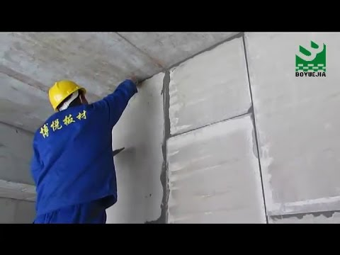 EPS Cement Sandwich Wall Panels Installation Guide