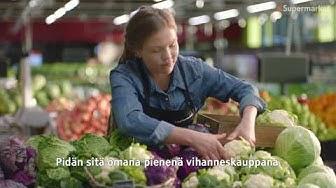 K-Supermarketin hedelmä- ja vihannesosastolla näkyy tuoreus ja paikallisuus