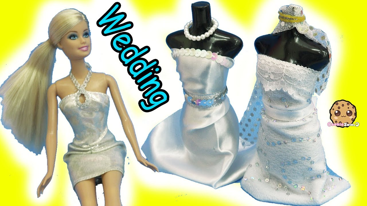 Barbie Doll Wedding Dress Designer Maker Playset + Bridal Runway ...