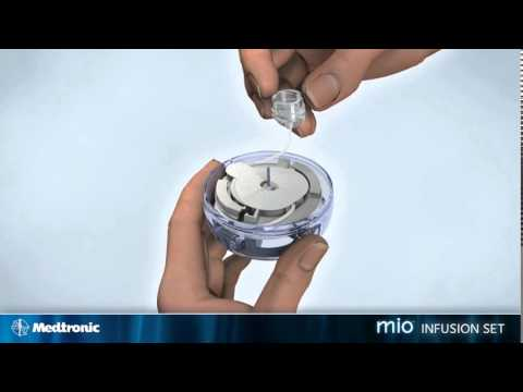 How to insert the Medtronic MiniMed mio™ infusion set - diabetes therapy