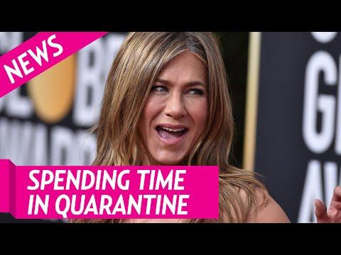 How Jennifer Aniston Has Been Spending Her Time in Quarantine