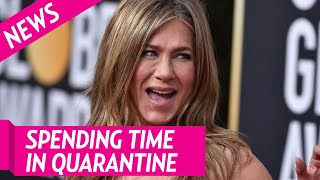 How Jennifer Aniston Has Been Spending Her Time in Quarantine