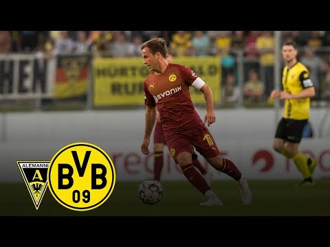 Götze Goal at Win in Aachen | Alemannia Aachen - BVB 0-4 | All Goals and Highlights