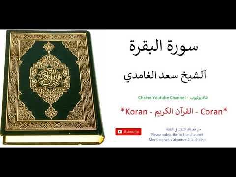 Coran Koran- Al Baqara Saad Al Ghamidi - سورة البقرة آلشيخ سعد الغامدي القرآن الكريم