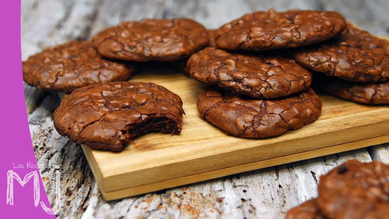 COOKIE BROWNIES | Galletas con textura de Brownie - YouTube