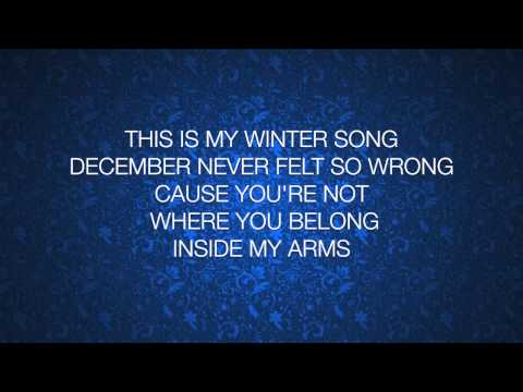 Ingrid Michaelson & Sara Bareilles - Winter Song (lyrics)