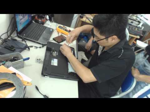 Hướng dẫn vệ sinh Laptop Asus G53J