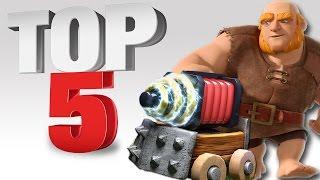 top 5 combo piu forti su clash royale 2