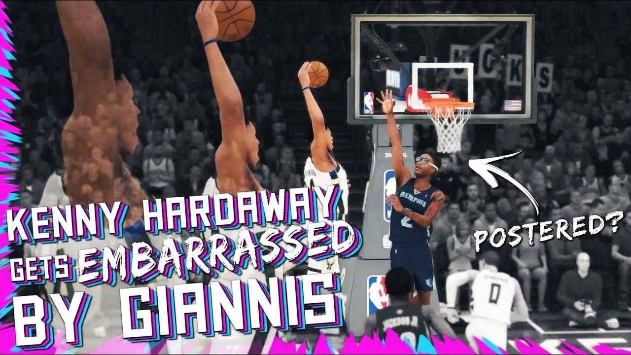 KENNY HARDAWAY IS EMBARRASSED BY GIANNIS   NBA 2K20 MYCAREER #16
