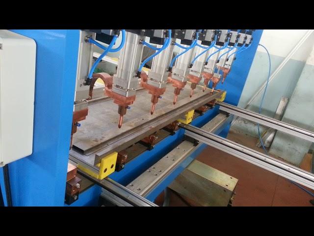 Sağlam Makina - Asansör Kapısı Destek Sacı Punta Kaynak Makinesi (Tek Trafolu)
