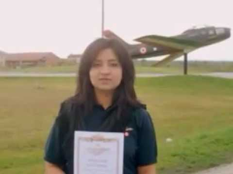Shafaq Hayat First Pakistani Pilot In Italy report by Khurram Azaz