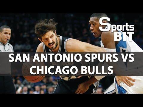 San Antonio Spurs vs Chicago Bulls | Sports BIT | NBA Picks