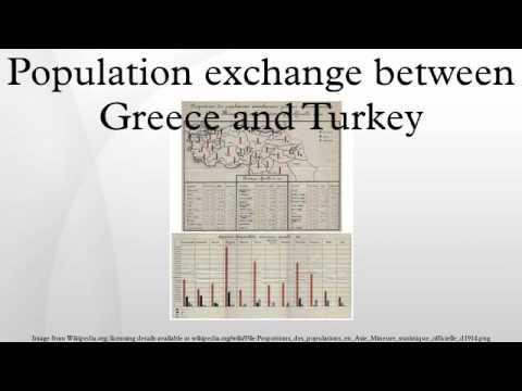 Population exchange between Greece and Turkey
