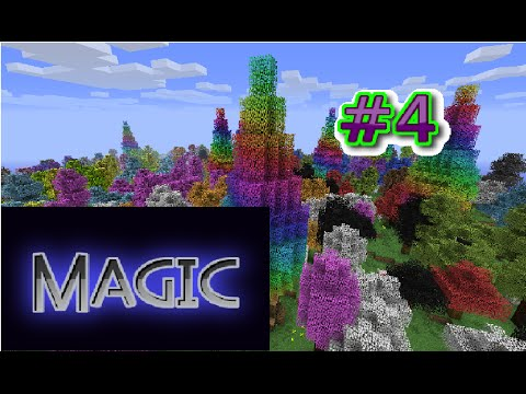 Minecraft | Mythical World | Magic-#4(Дальние соседи)