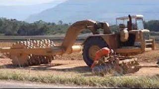 Невероятная тяжелая техника   Очень необычные машины!