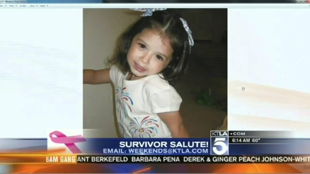 KTLA Weekend Morning News Sunday Oct  9, 2011 Survivor Salute
