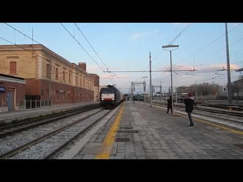 E189 099 MRCE DISPOLOK (NOLEGGIATA A ISC) per TC Giovinazzo-Verona in transito a Barletta!