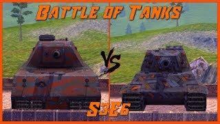 WOTB Battle of Tanks: S3E6 (E75 vs Mäuschen)