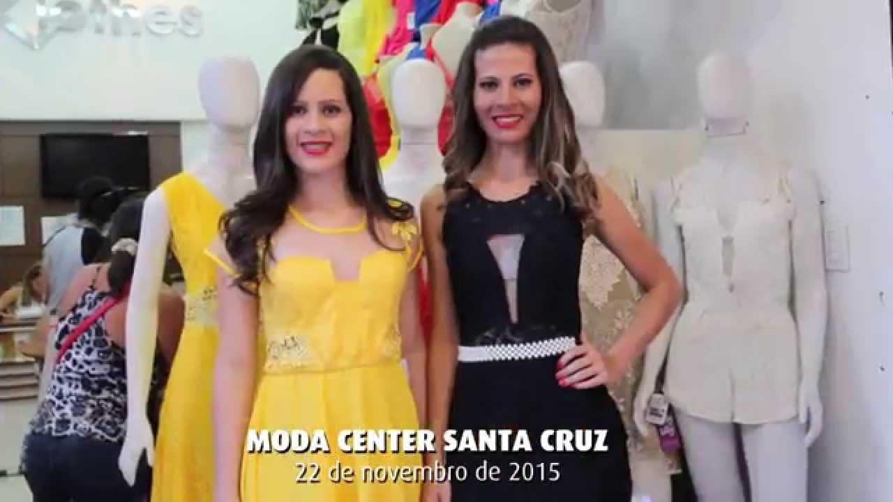 ebdb74bee Moda Center Santa Cruz registra grande público na feira deste dia 22 de  novembro de 2015 - YouTube