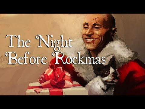 Twas the Night Before Rockmas - Story Time with Dwayne Johnson