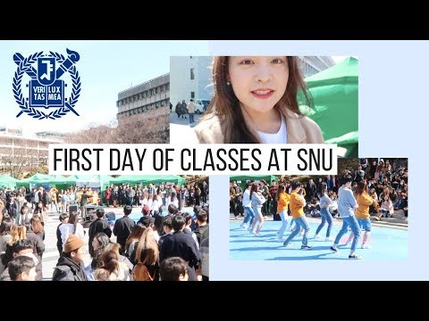 First Day of Classes at Seoul National University | Korea Vlog #10